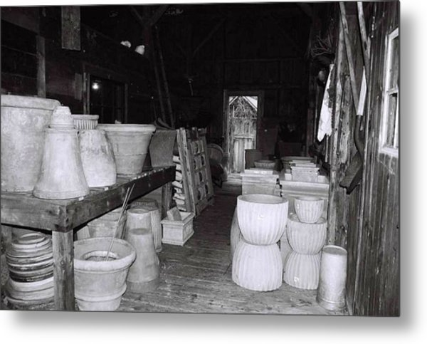 Potting Barn Of Maine Metal Print