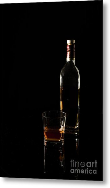 Pour Me A Glass Metal Print