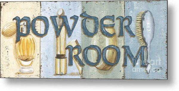 Powder Room Metal Print