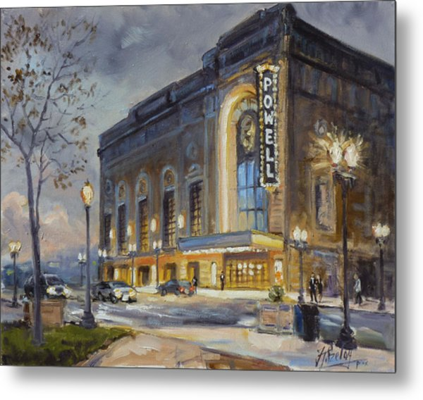 Powell Symphony Hall In Saint Louis Metal Print