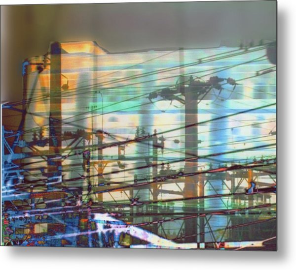 Power 1 Metal Print