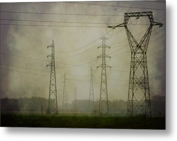 Power 5. Metal Print