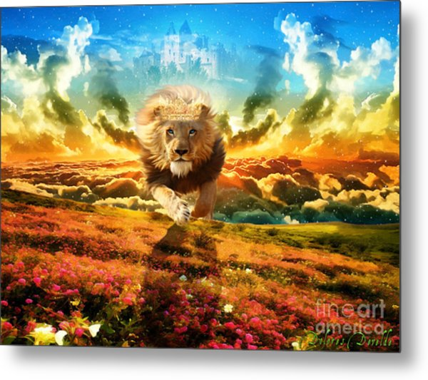 Power And Glory Metal Print