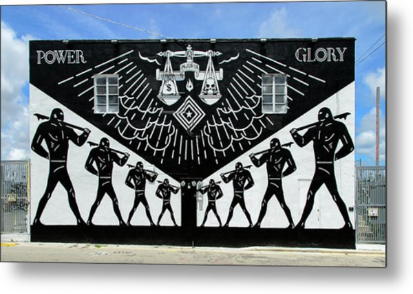 Power And Glory Metal Print