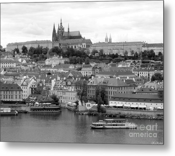 Prague Castle Metal Print by Keiko Richter