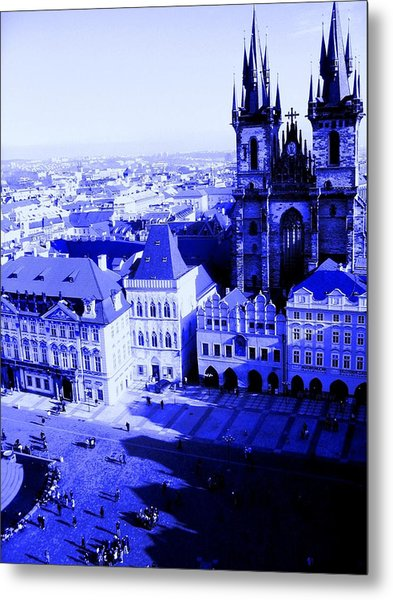 Prague Cz Metal Print