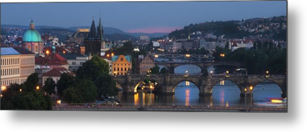 Prague - Most Beautiful City In The World Metal Print