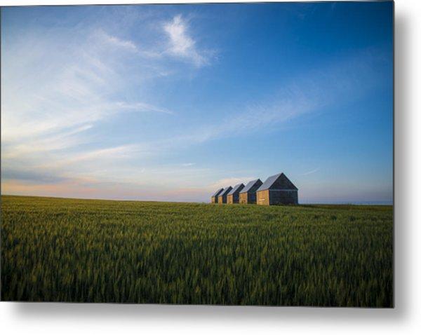 Prairie Evening Metal Print