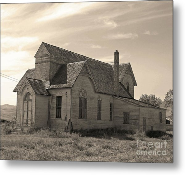 Prairie House Metal Print