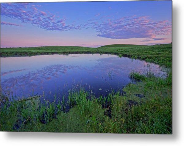 Prairie Reflections Metal Print