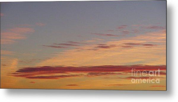 Prairie Sunset 2 Metal Print
