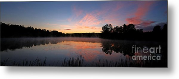 Prat Pond Morning Metal Print