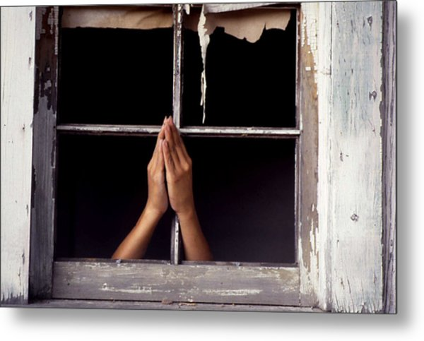 Prayer Metal Print