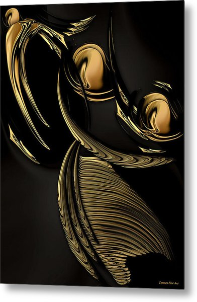 Preconceived Projection Metal Print