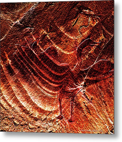 Prehistoric Bird Metal Print