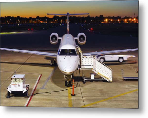 Preparing For Departure Metal Print