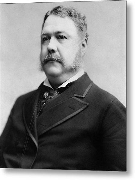 President Chester A. Arthur - 1882 Metal Print