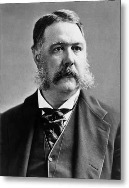 President Chester Arthur Photo Metal Print