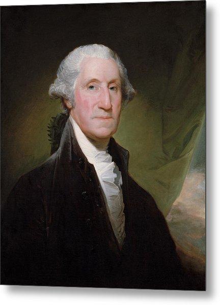 President George Washington Metal Print