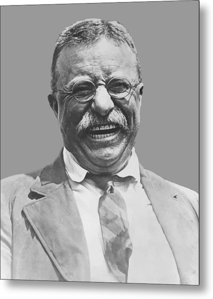 President Teddy Roosevelt Metal Print