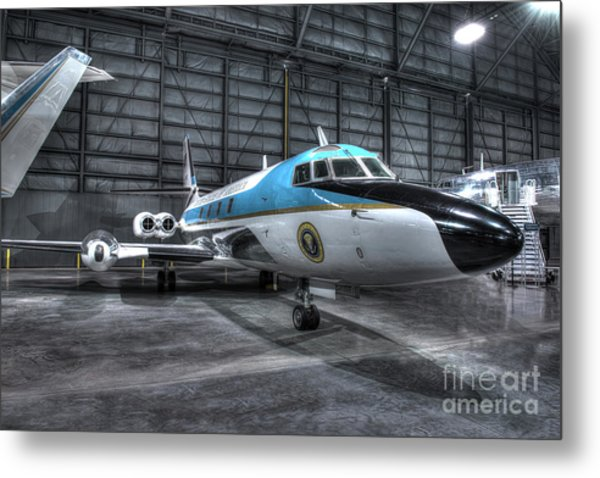 Presidential Aircraft - Lockheed Vc-140b Jetstar  Metal Print