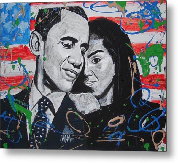 Presidential Love Metal Print