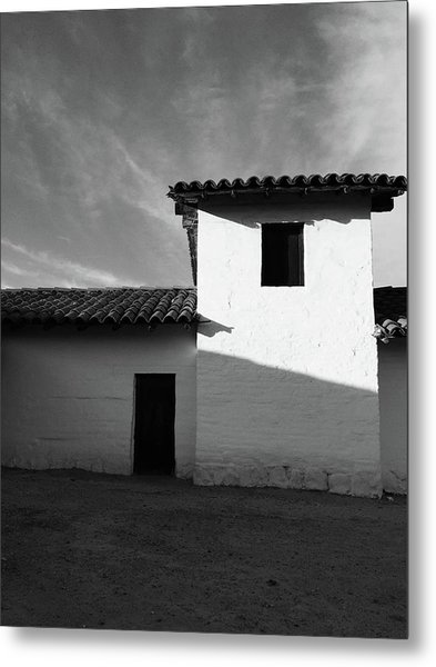 Presidio Shadows- Art By Linda Woods Metal Print
