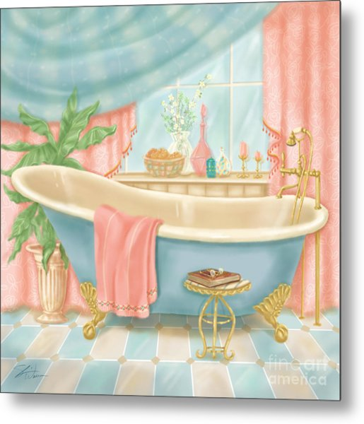 Pretty Bathrooms I Metal Print