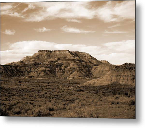 Pretty Butte Metal Print