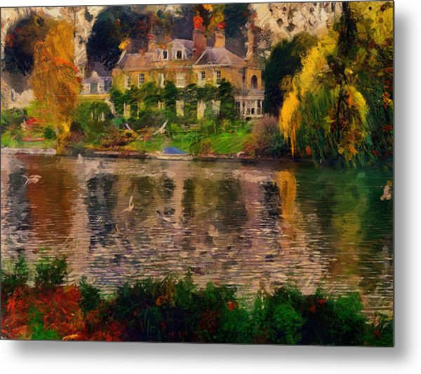 Pretty On The River Metal Print