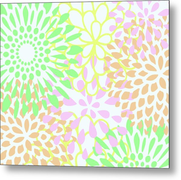 Pretty Pastels Metal Print
