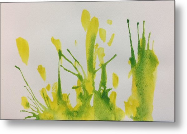 Pretty Weeds Metal Print