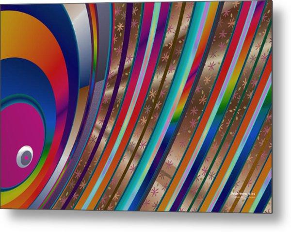 Pride Waves 2101 Metal Print