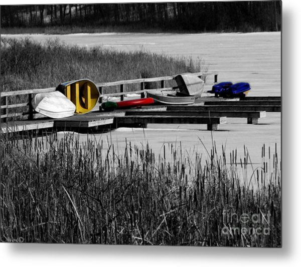 Primary Colors  How Plain Life Could Be Without Metal Print