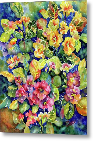 Primrose Patch I Metal Print