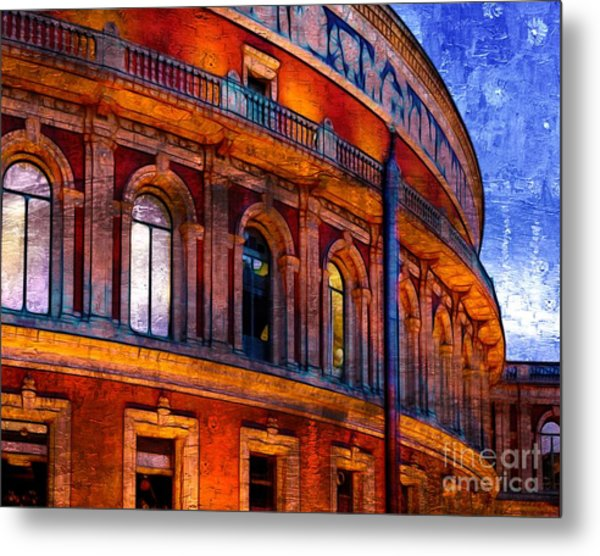 Royal Albert Hall, London Metal Print