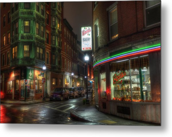 Prince And Salem - North End Boston Metal Print