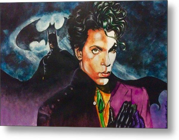 Prince Batdance Metal Print