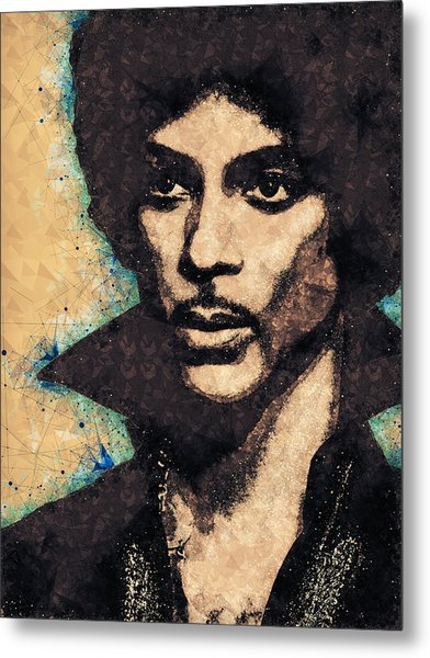 Prince Illustration Metal Print