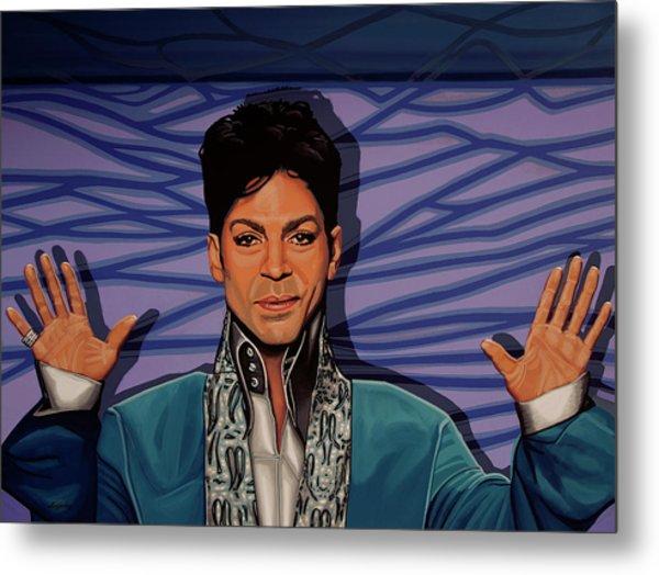 Prince 2 Metal Print