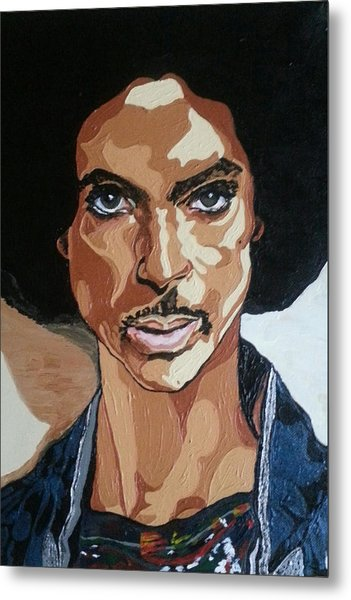 Prince Rogers Nelson Metal Print