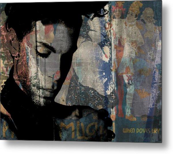 Prince - Art Metal Print