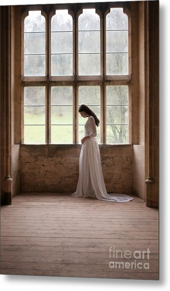 Princess In The Castle Metal Print