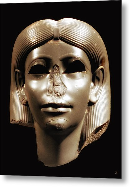 Princess Sphinx Metal Print