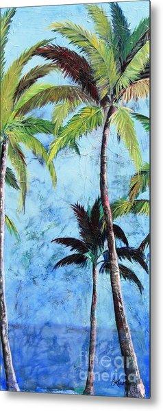 Princeville Palms  Metal Print