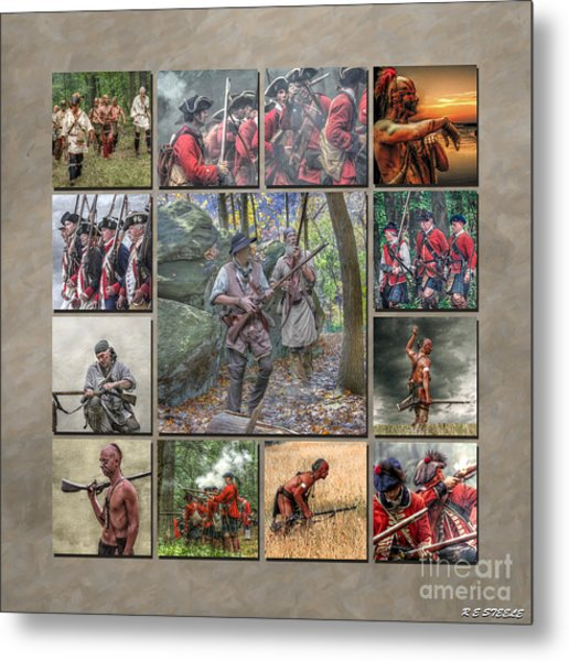 Print Collection French And Indian War Metal Print