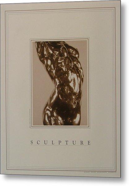 Print Of Sculpture By The Artist Metal Print by Gary Kaemmer