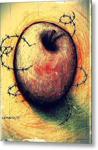 Prison Of Human Desire Metal Print by Paulo Zerbato
