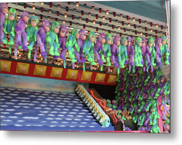 Prize Monkeys Metal Print