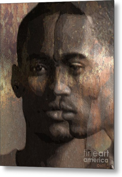 Profile In Bixby Metal Print
